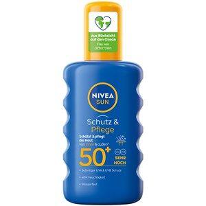 Nivea Zonneproducten Zonbescherming Sun Bescherming & verzorging zonnespray SPF 50+ 200 ml
