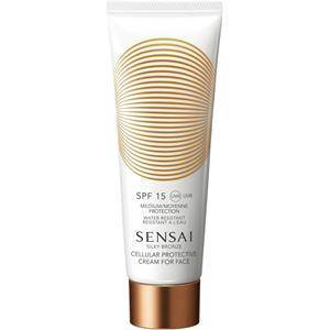 SENSAI Zonneproducten Silky Bronze Cellular Protective Cream For Face SPF 15 50 ml