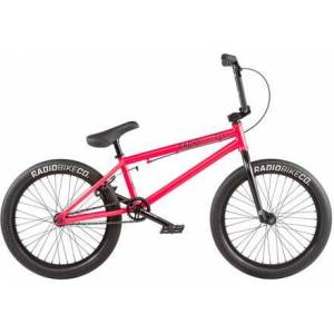 """Radio Bike Co Freestyle BMX Fiets Radio Evol 20"""" 2020 (Roze)"""