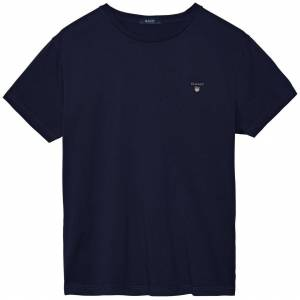Gant The Original T-Shirt Avond Blauw / male