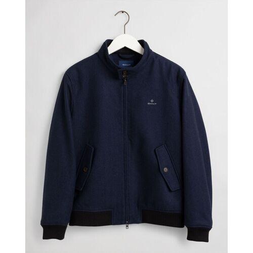 Gant The Wool Herrington Jacket Marine / male