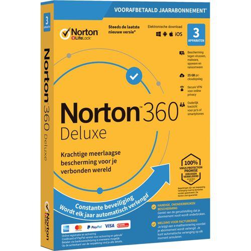 Symantec - Norton Norton 360 Deluxe 2020   3 Apparaten   1 Jaar   25GB   Windows/MAC/Android/iOS