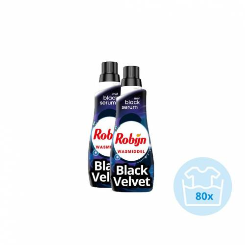 Robijn Klein & Krachtig Black Velvet - Kwartaalpakket