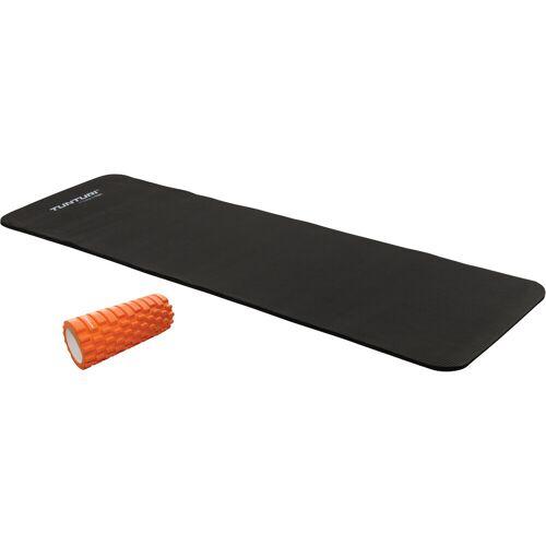 Tunturi Fitnessmat NBR + Yoga Foam Grid Roller