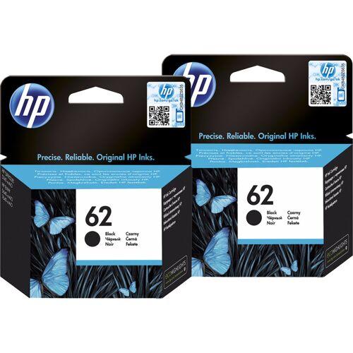 HP 62 Cartridges Zwart Duo Pack
