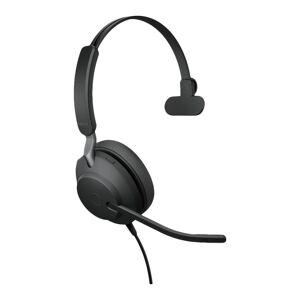 Jabra Evolve2 40 MS Mono USB-A Headset Zwart