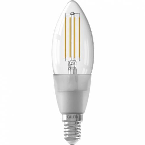 Calex wifi Smart Kaarslamp helder filament E14