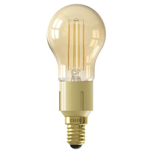Calex wifi Smart Kogellamp Goud Filament E14
