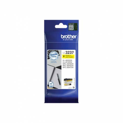 Brother LC-3237 Cartridge Geel