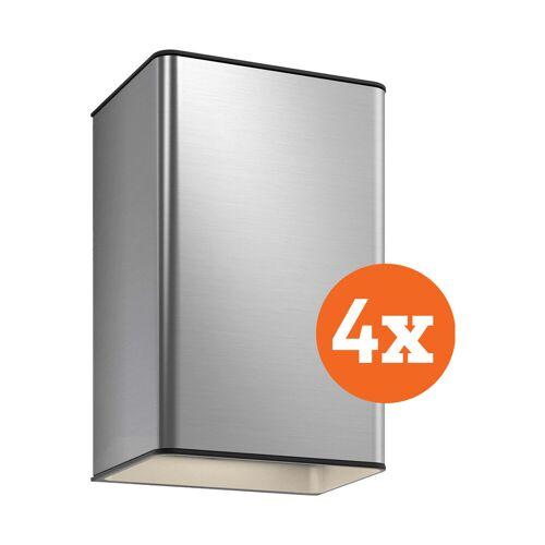 Philips Hue Resonate muurlamp White & Color aluminium 4-Pack