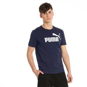 PUMA Essentials T-shirt met korte mouwen voor Heren, Blauw, Maat L