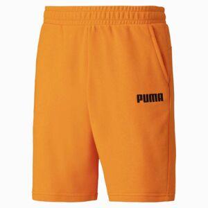 PUMA Essentials sweatbermuda voor Heren, Oranje, Maat S