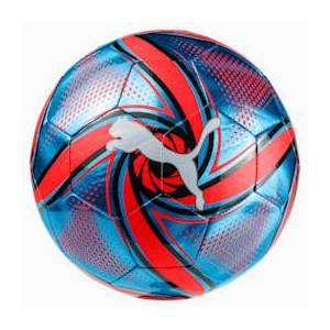 PUMA FUTURE Flare Football, Blauw/Zwart/Rood, Maat 4