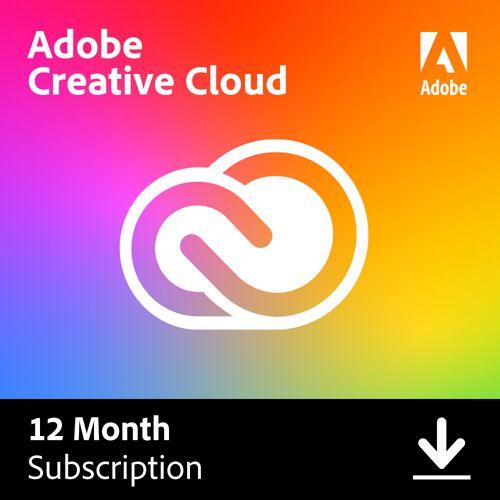 Adobe Alle Adobe apps - volledige Adobe Creative Cloud - 1 Jaar abonnement - 12 maanden