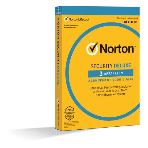 Symantec Norton Security 2020 voor 3 Apparaten 2020 voor 3 Apparaten - 1 Jaar.