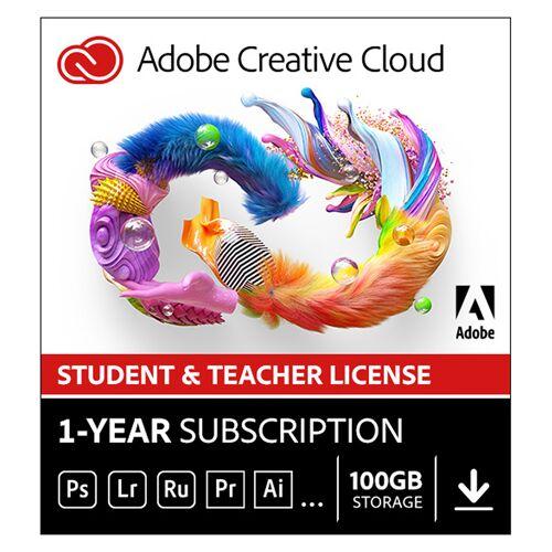 Adobe Creative Cloud Individual (all apps)   Abonnement   1Jaar   100GB Cloud