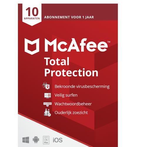 McAfee Live Safe 2021 Premium, al uw gezinsapparaten, ESD