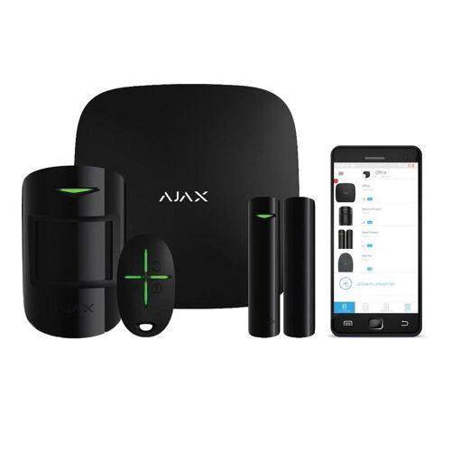 Ajax Draadloos Alarmsysteem Startpakket Zwart