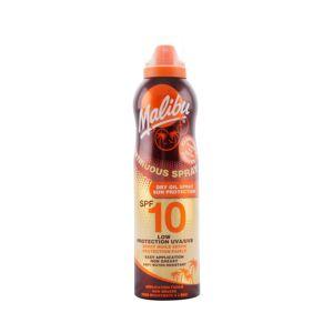 Malibu Zonnebrand Continue Spray Dry Oil Factor 10, 175 ml