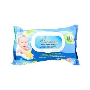 Harmony Babydoekjes Aloevera, 80 Stuks