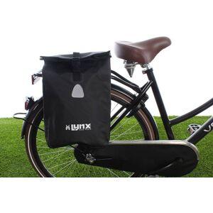 Lynx Enkele fietstas Single Pannier bag 16L Zwart