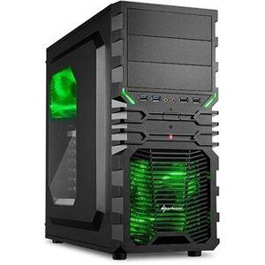 AMD Ryzen 3 2200G Budget Game Computer / Gaming PC - RX Vega 8 - 8GB 2666 RAM - 480GB SSD - GROEN