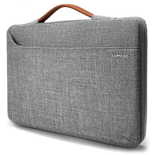Tomtoc - Laptop&MacBook Sleeve - 15.5 inch - Laptop tas - Grijs