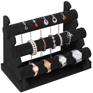 Deuba Sieradenstandaard, zwart voor armbanden en horloges
