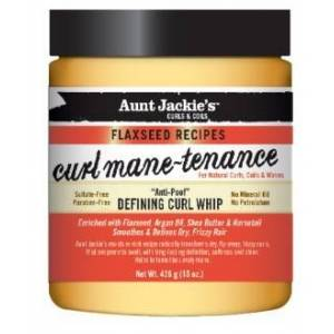 Aunt Jackies Aunt Jackie's Curls & Coils Flaxseed Curl Mane-Tenance Defining Curl Whip 426 gr