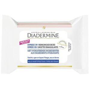 Diadermine Express 3in1 Reinigingsdoekjes 40 Stuks