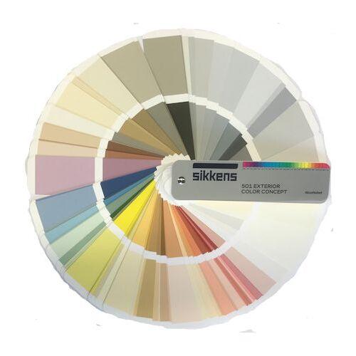 Sikkens 501 Exterior Color Concept kleurenwaaier