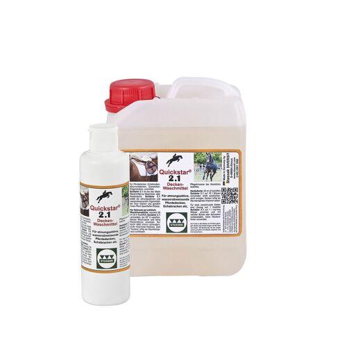 Stassek Quickstar 2.1 Premium Reinigingsmiddel voor Dekens en Zadeldekens, 2 liter  - Doorschijnend - Size: 2000