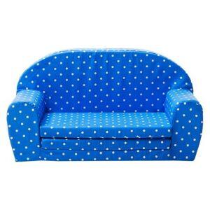Gepetto Uitklapbare Mini sofa (blauw met witte stippen) - Gepetto (05.07.04.02)