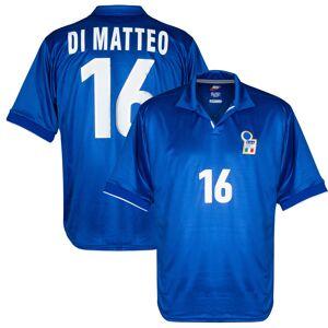 Nike Italië Shirt Thuis Match Edition 1998 + Di Matteo 16 - maat Large