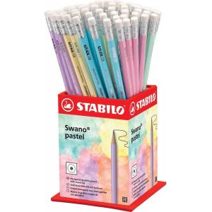 Stabilo potlood Swano pastel, display van 72 stuks