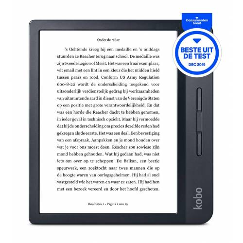 Kobo Libra H2O e-Reader zwart