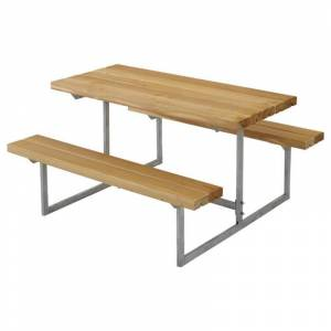Plus Danmark Kinderpicknicktafel lariks geolied   Basic