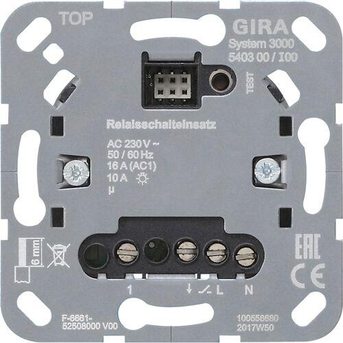 Gira Systeem 3000 - Relais schakelaar 540300 LED universeel/bewegingssensor
