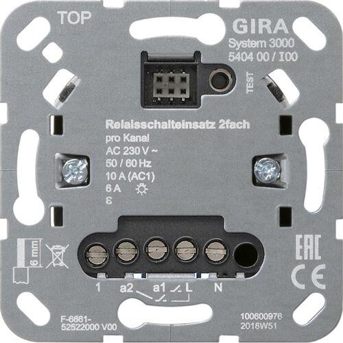 Gira Systeem 3000 - Relais schakelaar 540400