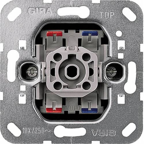 Gira Basiselement - Schakelaar 011200 2-polige schakelaar