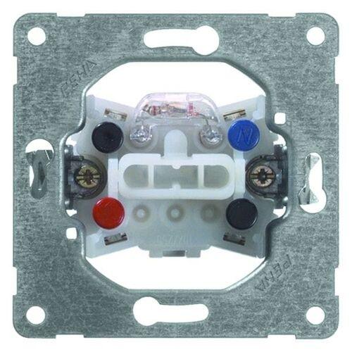 Peha Basiselement - Schakelaar 612/16GLK  2-polige schakelaar 16A