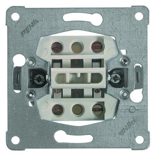 Peha Basiselement - Schakelaar 612/16   2-polige schakelaar