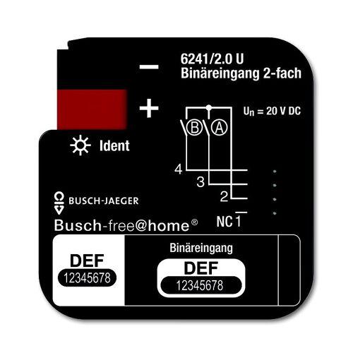 ABB Busch-Jaeger Busch-free@home - Binaire ingang 6241/4.0 4 ingangen