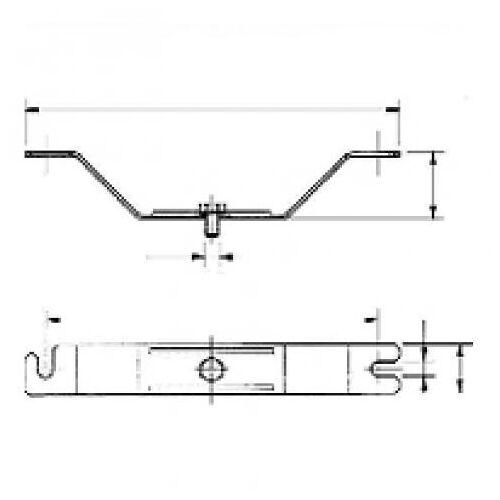 Ceag LLK - Ex-plafondbeugel D92