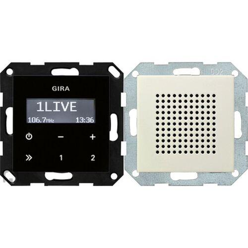 Gira Systeem 55 - Radio 228001 Crème