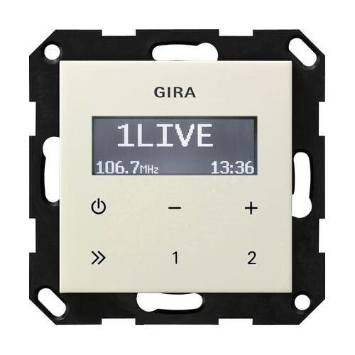 Gira Systeem 55 - Radio 228401 Crème
