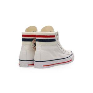 Converse Ctas Hi White/Egret/Egret  - Optical White / Gree - Size: 39