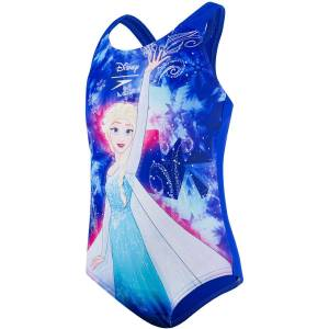 Speedo Disney Frozen 1Pce zwempak - 1YR Beautiful Blue / Tur