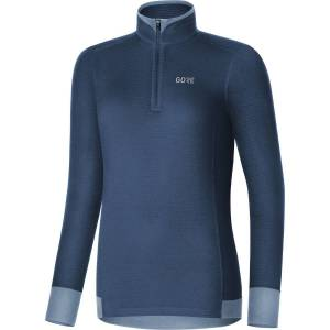 Gore Thermo Light shirt voor dames - Extra Large Deep Water Blue