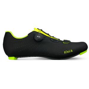 Fizik Tempo R5 Overcurve fietsschoenen - 39 zwart/geel   Fietsschoenen
